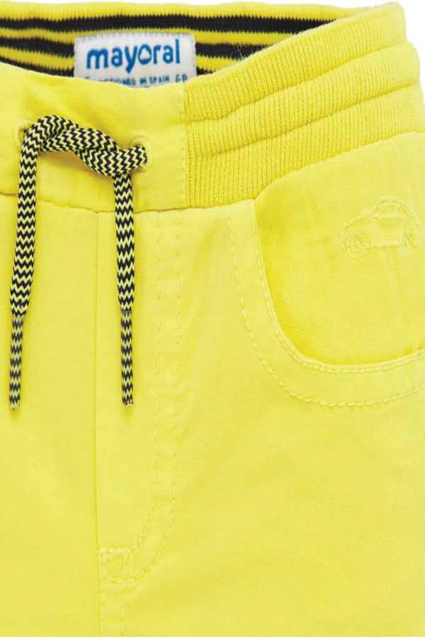 TROUSERS WITH DRAWSTRING FOR BABY BOY