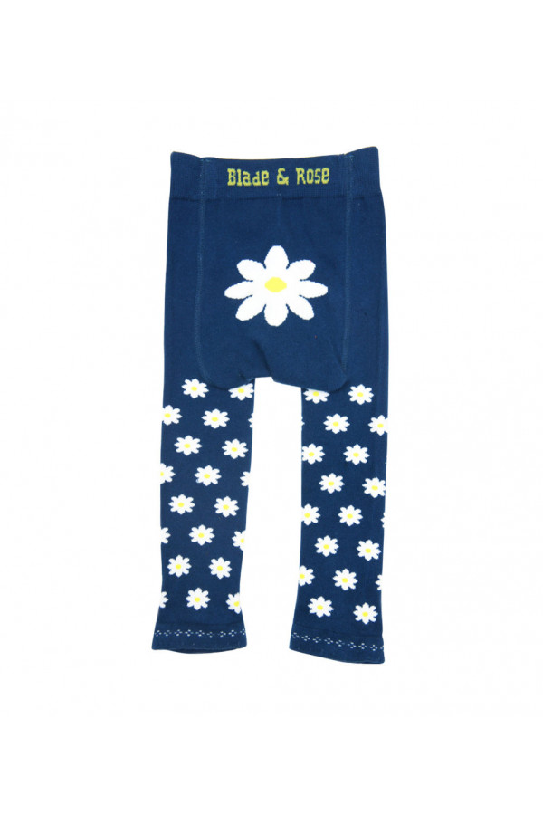 BLUE DAISY BABY LEGGINGS
