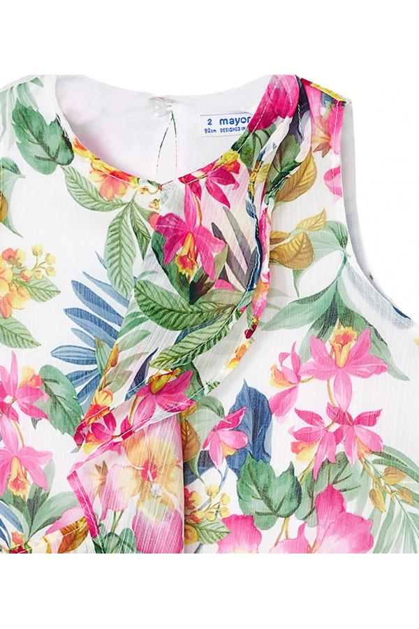 TROPICAL PATTERNED DRESS FOR GIRL